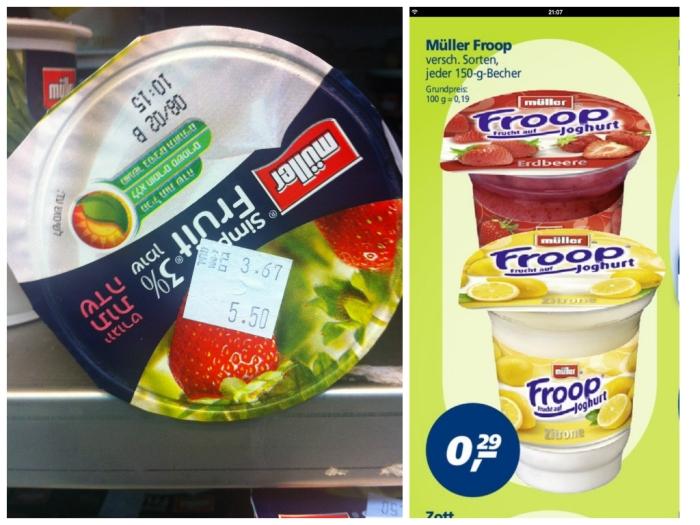 Joghurt vergleich