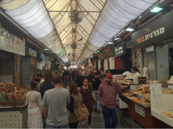 Heute im Machane Jehuda Markt in Jerusalem