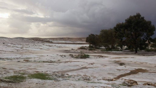 hagel mizpe ramon
